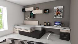 Grey bedroom in McKinney, TX