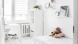 White bedroom in McKinney, TX