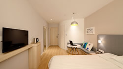 Beige bedroom in Plano, TX